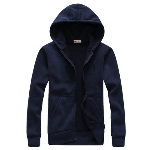 Men Hoodies Cotton Coats