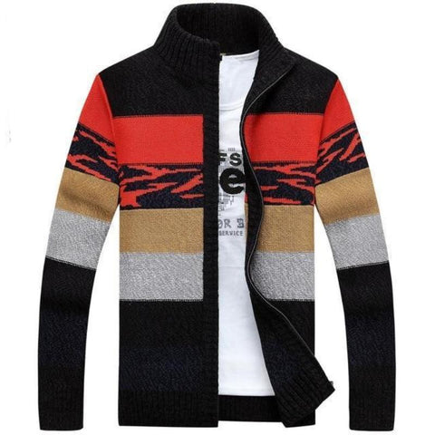 Knitted Sweaters Collar Winter
