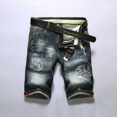 Personality Holes Denim