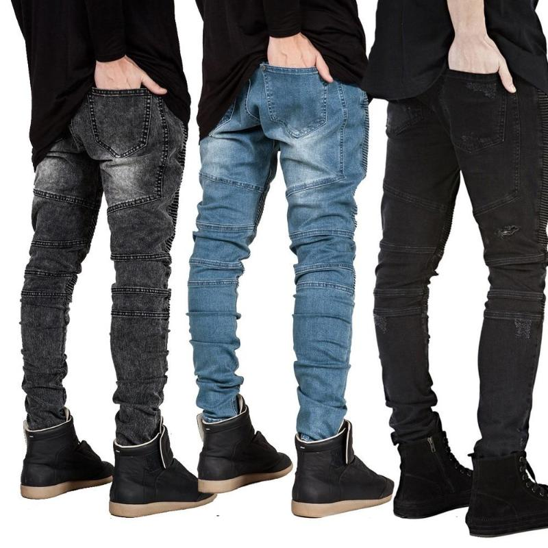 Men Jeans Runway Slim