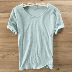 New T Shirt Breathable Cotton