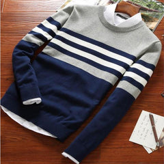Autumn Round Neck Patchwork Quality
