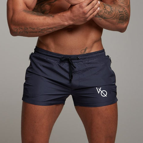 Men Gyms Fitness Shorts