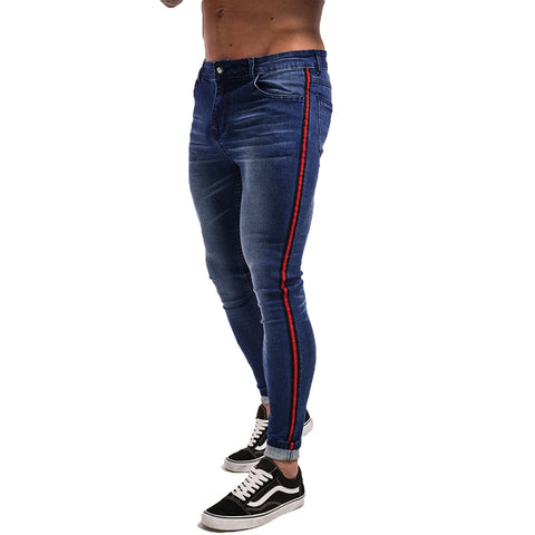 Classic Hip Hop Stretch Jeans