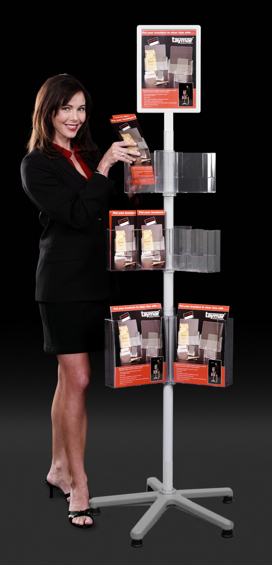 3 tiers Carousel Stand - TRC3