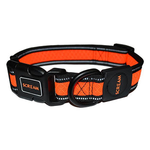 Dog Collar Scream Reflective Adjustable Loud