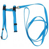 "Cat/Puppy Harness w/Leash 3/8"" Adjustable - Prestige"