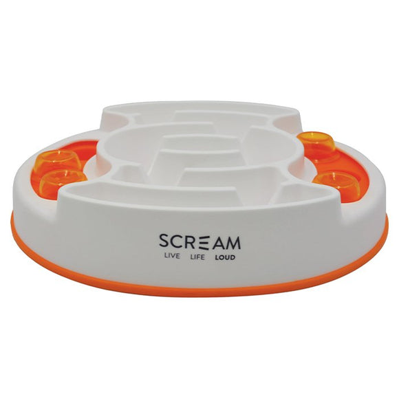 Scream SLOW FEED INTERACTIVE PUZZLE BOWL 27x31cm
