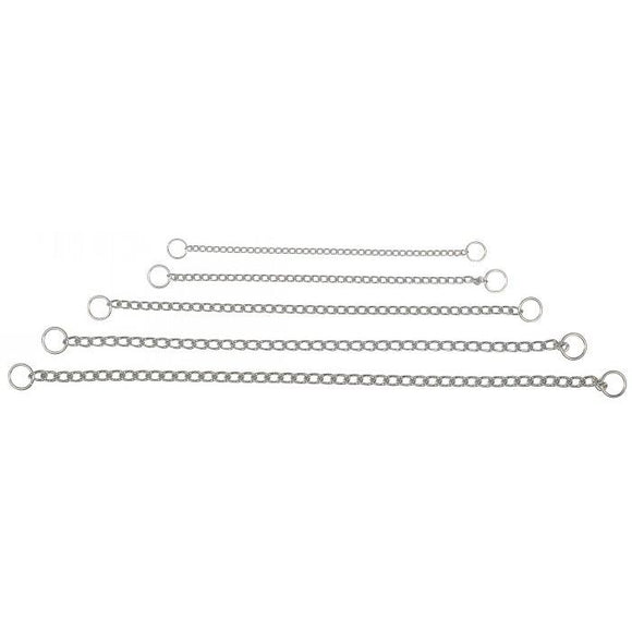 Dog Collar Chain Correction Choke Chrome Prestige