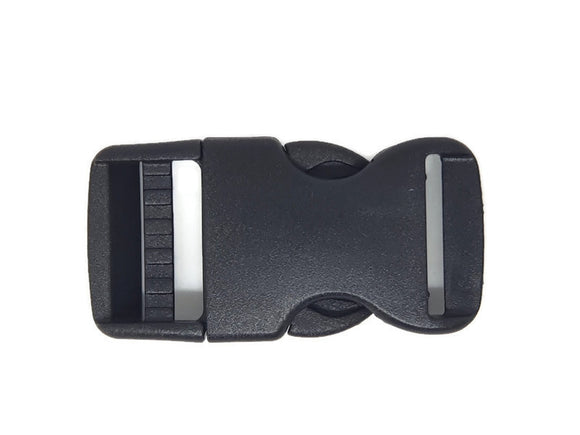 Adjustable Side Release Buckle 25mm Pack 2