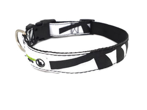 New Zealand/Kiwi - Silver Fern Dog Collars Adjustable - Moondidley Pets
