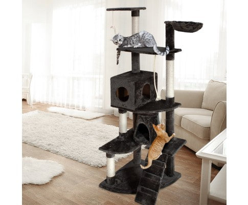 i.Pet 193cm Multi Level Cat Scratching Post