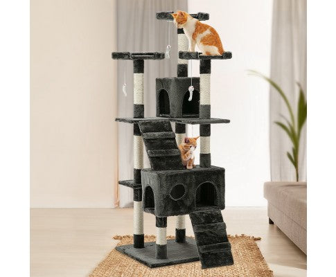 i.Pet 180cm Multi Level Cat Scratching Post