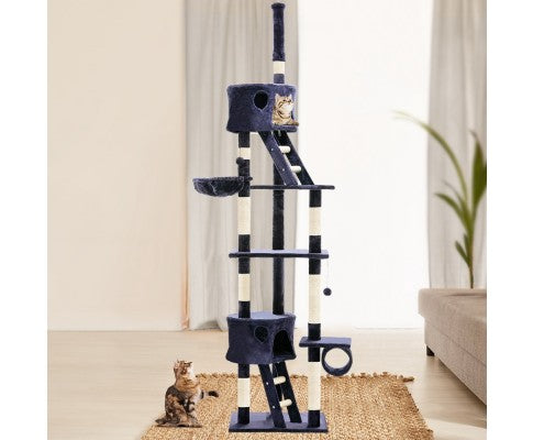 i.Pet 260cm Multi Level Cat Scratching Post