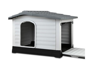Extra Extra Large Pet Kennel - Grey