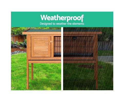 70cm Tall Wooden Pet Coop with Slide out Tray