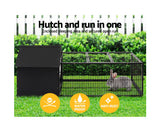 i.Pet Rabbit Cage Hutch Cages Indoor Outdoor Enclosure Pet Metal Carrier 162CM Length