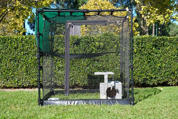 Premium Portable Cat Enclosure 1.2m
