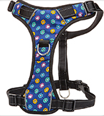 Dog Harness, Padded Reflective 3 Attachment Point, Moondidley Pets