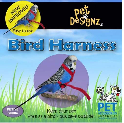 Bird Harness Pet Designz