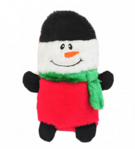 Dog Toy Christmas Snowman - ZippyPaws