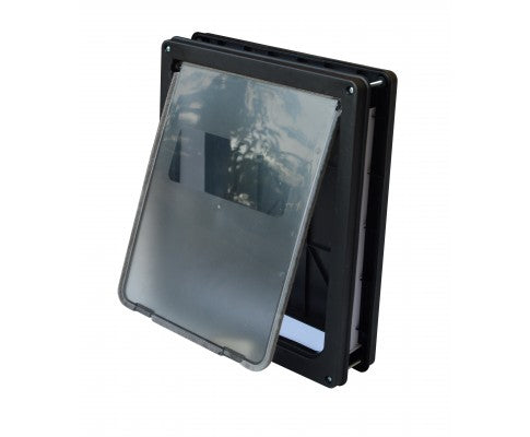 Pet Cat Dog Safe Security Flap Locking Door