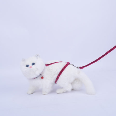 Bling Glitter Cat Harness and Lead - Moondidley Pets