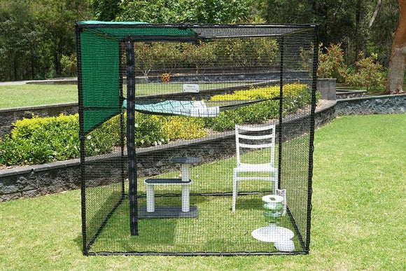 Cat Enclosure Single Size Free-Standing