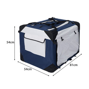 Pet Carrier Bag Dog Puppy Spacious Outdoor Travel Hand Portable Crate