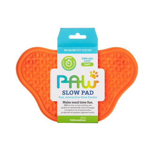 Licki Paw Slow Pad with Suction Caps- Anti-Anxiety Mat - Pet Slow Feeder