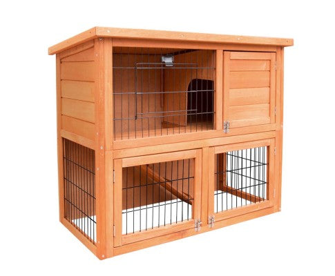 i.Pet 93cm Tall Wooden Pet Coop