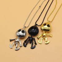 UFO Skeleton Necklace