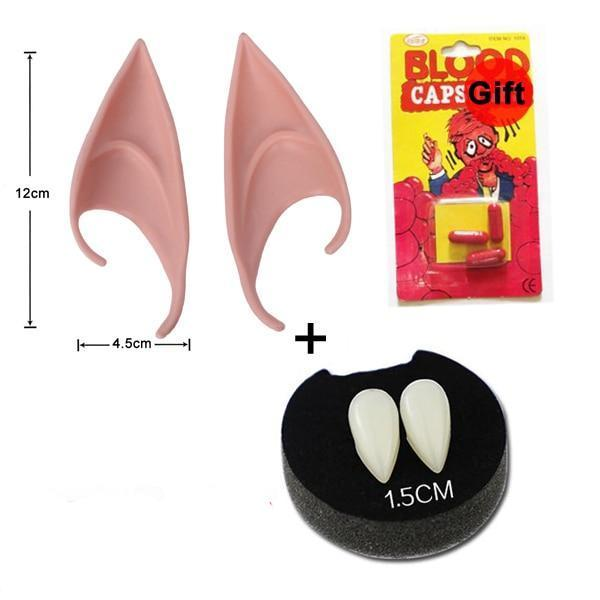Halloween Accessories- Teeth,Blood & Ears