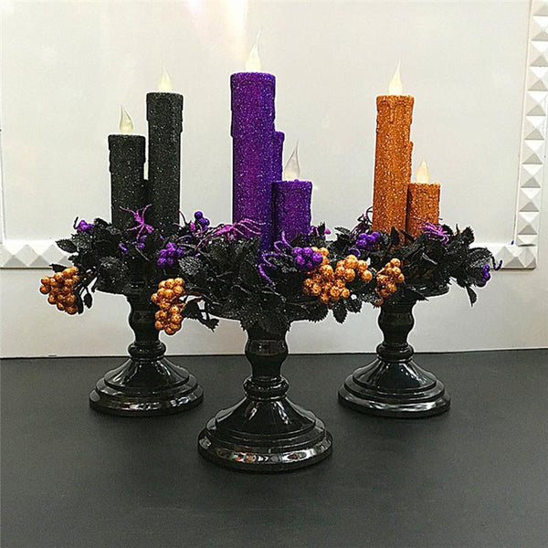 Halloween Candles-Battery Operated Candles