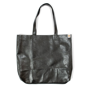 A Bathing Ape E-Mook Faux Leather Camo Tote Bag (2016)