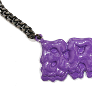 A Bathing Ape x Ambush Purple Ooze Logo Chain (2010SS)