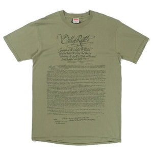 "Supreme ""Bill of Rights"" T-Shirt (2003)"