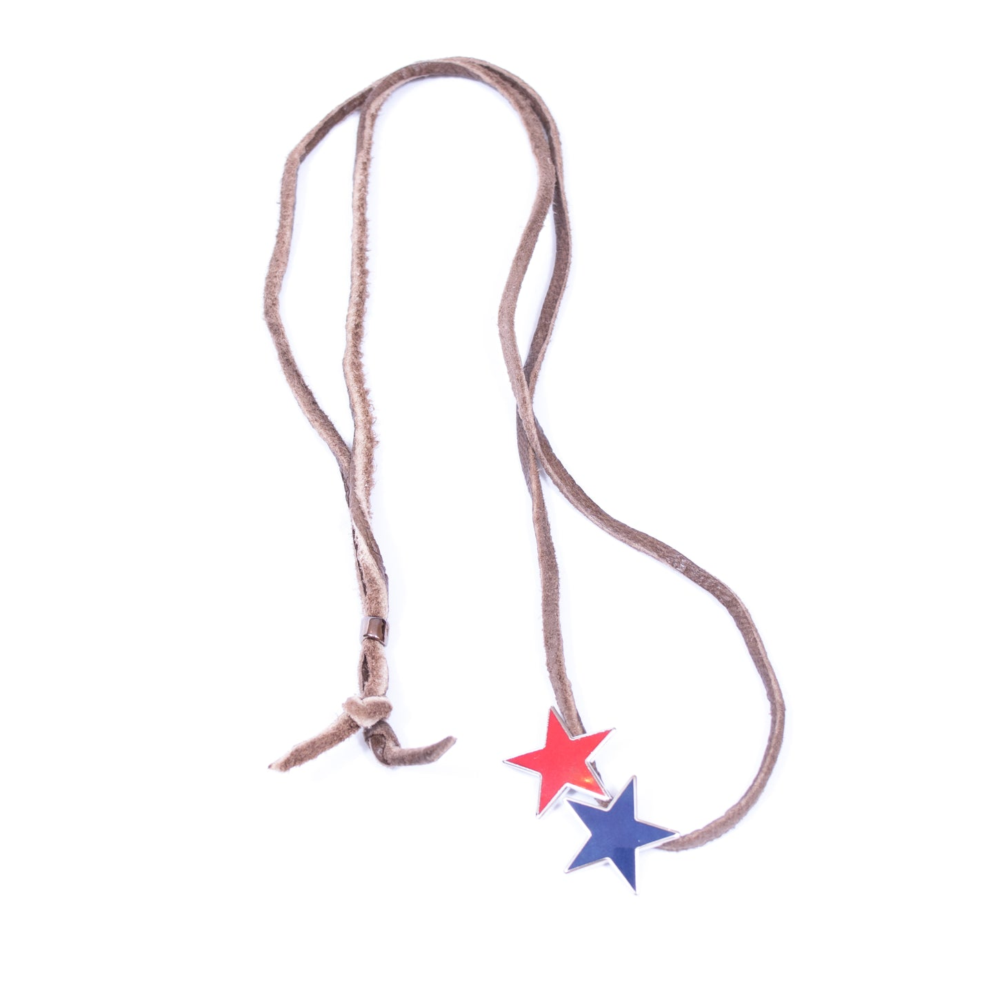 JohnUndercover Leather Stars Necklace