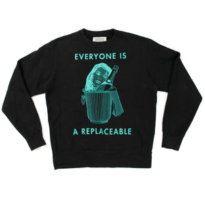 "Cav Empt ""Replaceable"" Crewneck (2014SS)"