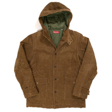 Load image into Gallery viewer, Supreme Corduroy Duffle Coat (2008FW)