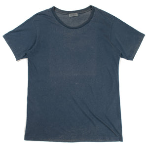 Yohji Yamamoto Pour Homme Speckled Blue T-Shirt