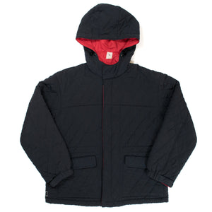 "Undercover ""Melting Pot"" Quilted Hooded Jacket"