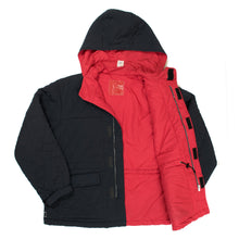 "Load image into Gallery viewer, Undercover ""Melting Pot"" Quilted Hooded Jacket"