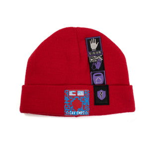 Cav Empt Patched Knit Cap (2019AW)