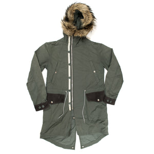 Undercover x Uniqlo Hooded Fur Fishtail Parka (2012FW)
