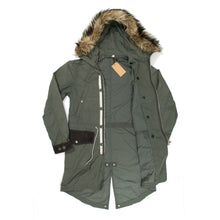 Load image into Gallery viewer, Undercover x Uniqlo Hooded Fur Fishtail Parka (2012FW)