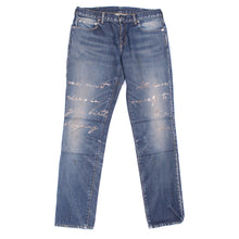 Load image into Gallery viewer, Undercover Indigo-Dyed Script Denim (2010AW)