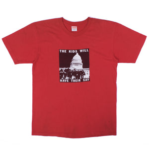 "Supreme ""The Kids Will Have Their Say"" T-Shirt (2008SS) [Check condition]"