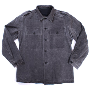 Yohji Yamamoto Y's For Men Red Label Stone Wash M-65 Jacket
