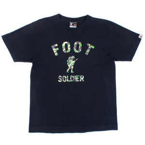 "A Bathing Ape Camo ""Foot Soldier"" T-Shirt"